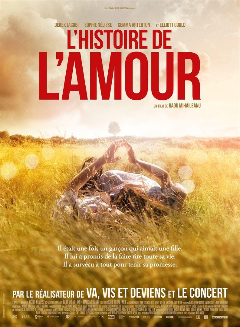 L'HISTOIRE DE L'AMOUR (BANDE ANNONCE VOST) avec Derek Jacobi, Sophie Nélisse, Gemma Arterton - Au cinéma le 9 novembre 2016