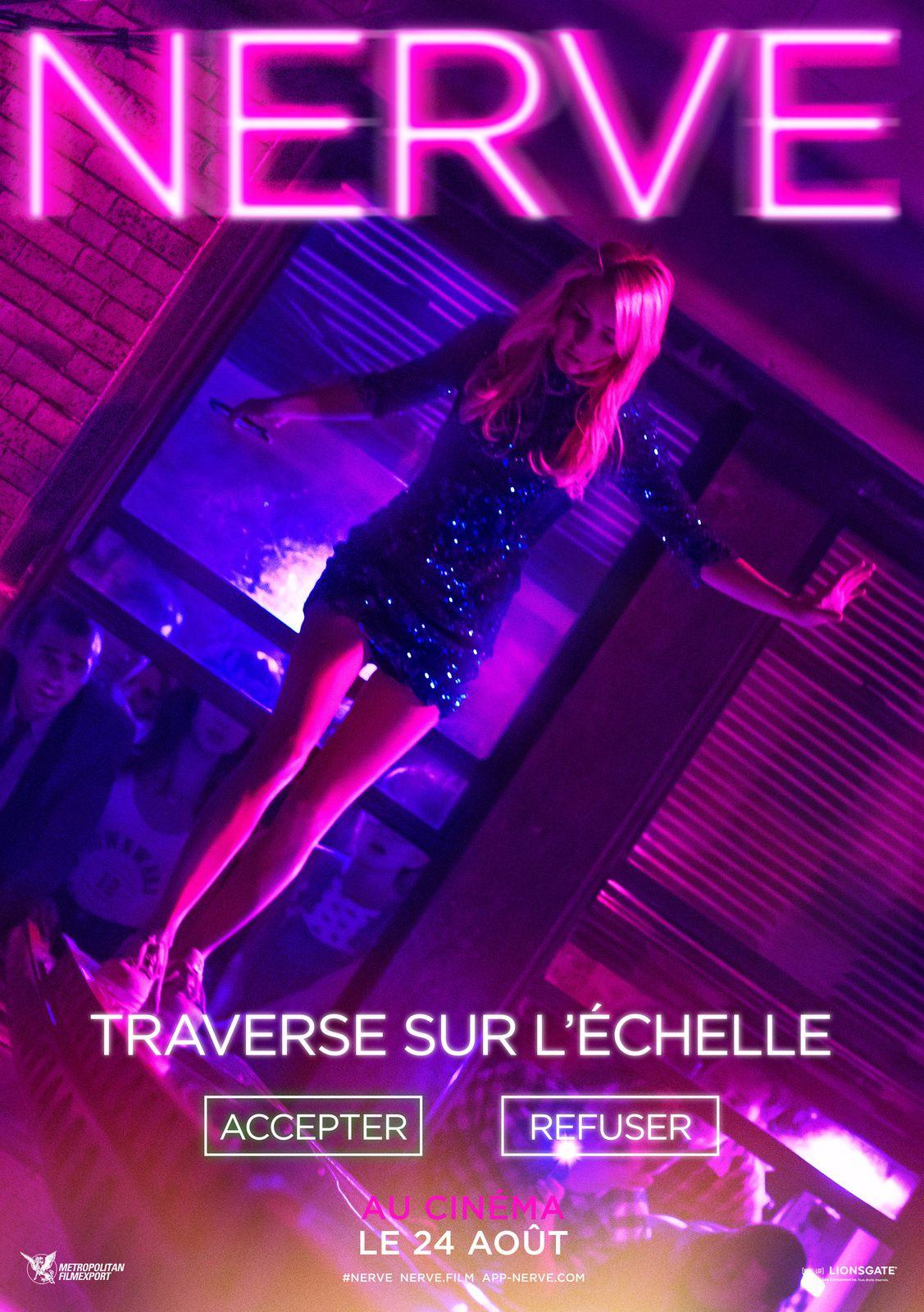 NERVE (BANDE ANNONCE VOST) avec Emma Roberts, Dave Franco, Juliette Lewis - Le 24 août 2016 au cinéma