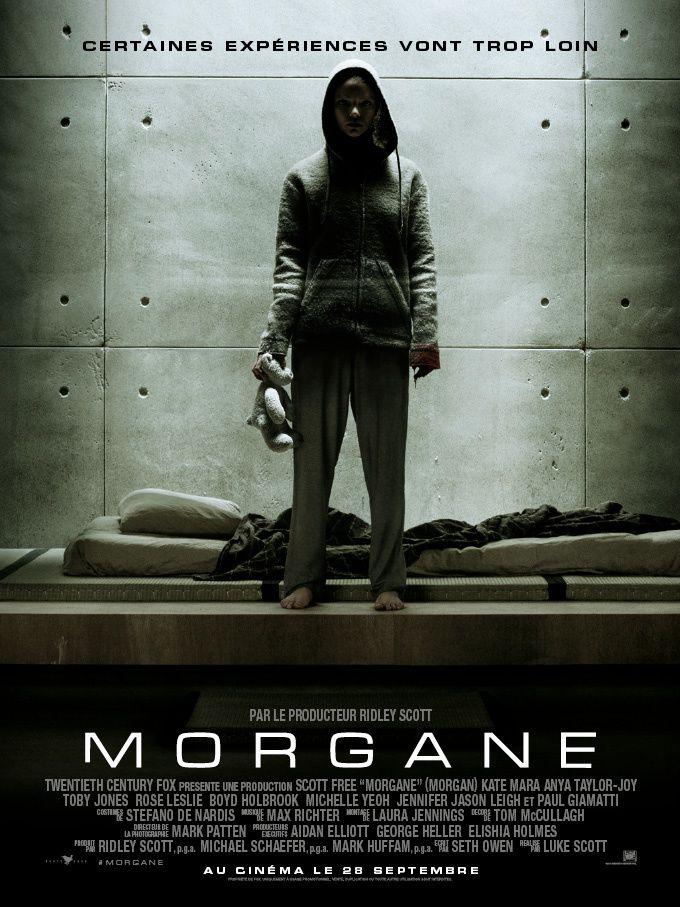Morgane (Morgan) (BANDE ANNONCE VF et VOST) avec Kate Mara, Jennifer Jason Leigh, Paul Giamatti - Le 28 septembre 2016 au cinéma