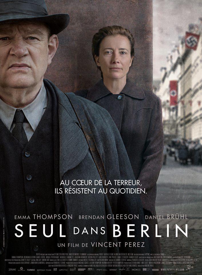Seul dans Berlin (BANDE ANNONCE VF et VOST) avec Emma Thompson, Brendan Gleeson et Daniel Brühl - Le 23 novembre 2016 au cinéma (Alone in Berlin)