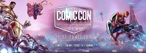 Deux talents de renom s'ajoutent à la programmation du Comic Con Paris 2016