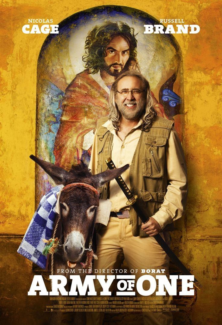 Army of One (BANDE ANNONCE VO 2016) de Larry Charles avec Nicolas Cage, Fiona Vroom, Russell Brand