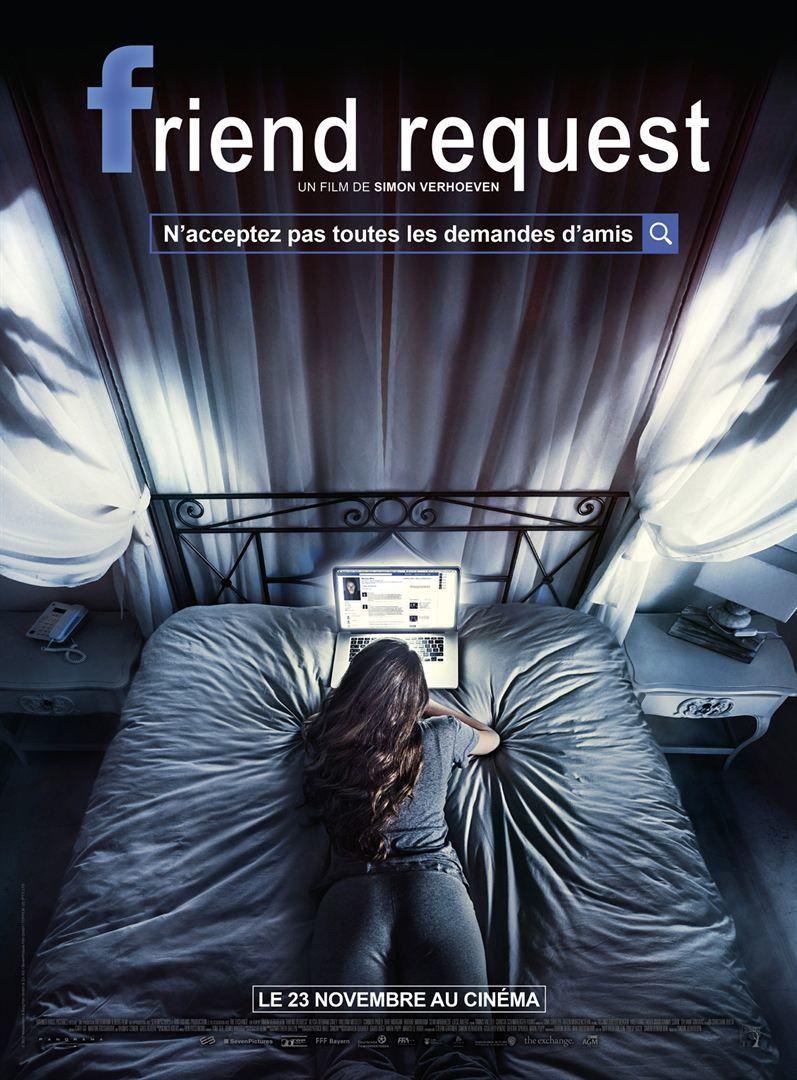 Friend Request (BANDE ANNONCE VF et VOST) avec Alycia Debnam-Carey, Brit Morgan, William Moseley - Le 23 novembre 2016 au cinéma
