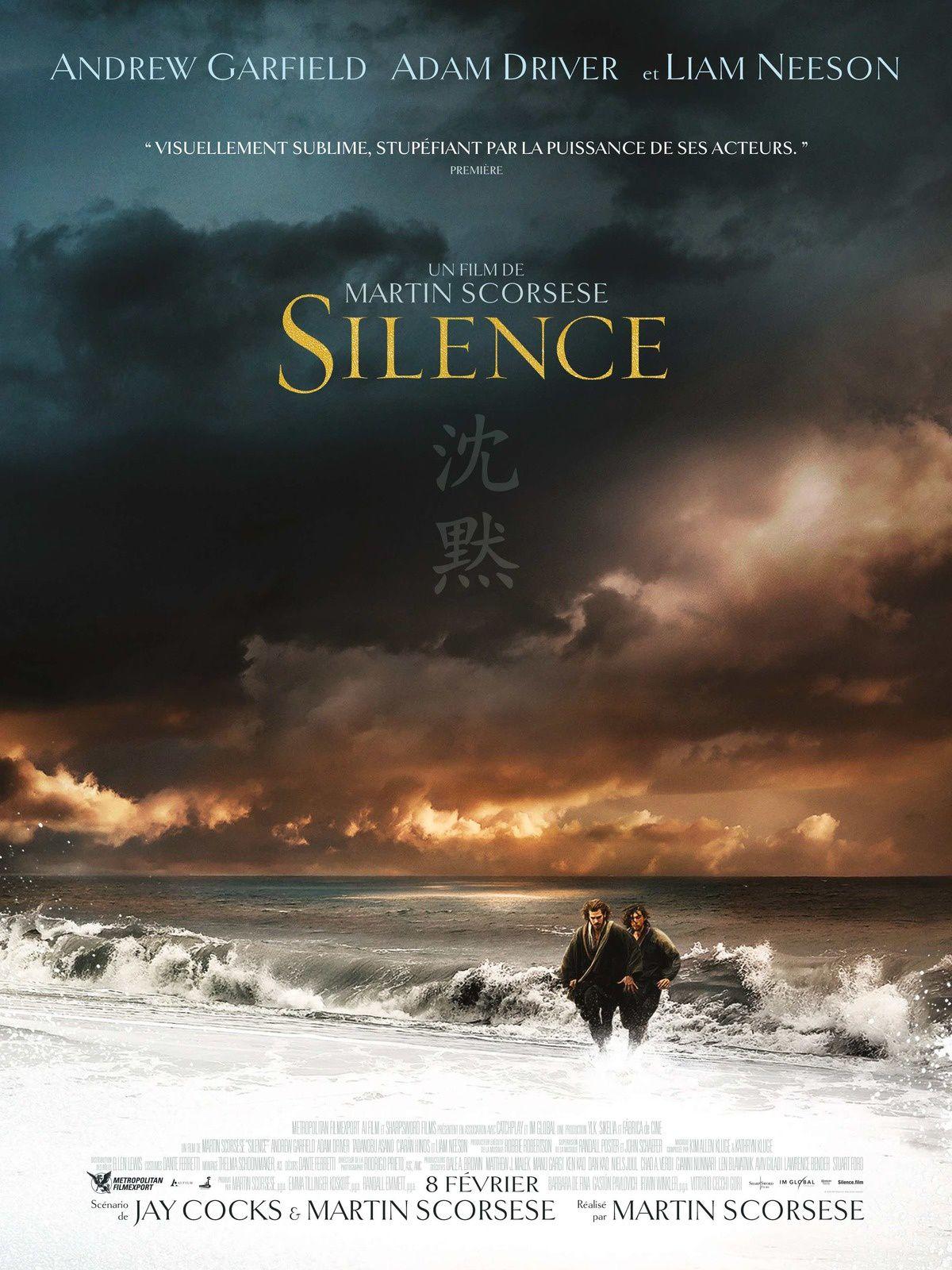 SILENCE le nouveau film de Martin Scorsese sortira le 8 février 2017 au cinéma ! Découvrez la bande annonce