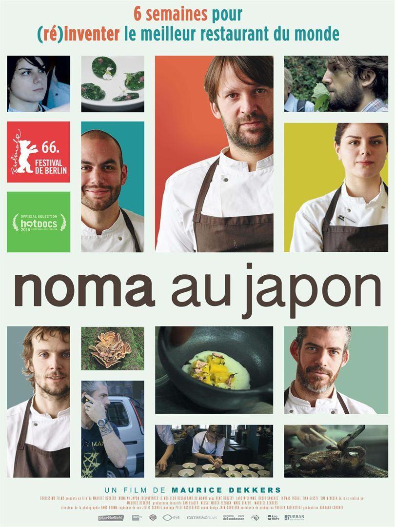 Noma au Japon : (Ré)inventer le meilleur restaurant du monde (BANDE ANNONCE VOST) de Maurice Dekkers - Le 26 avril 2017 au cinéma