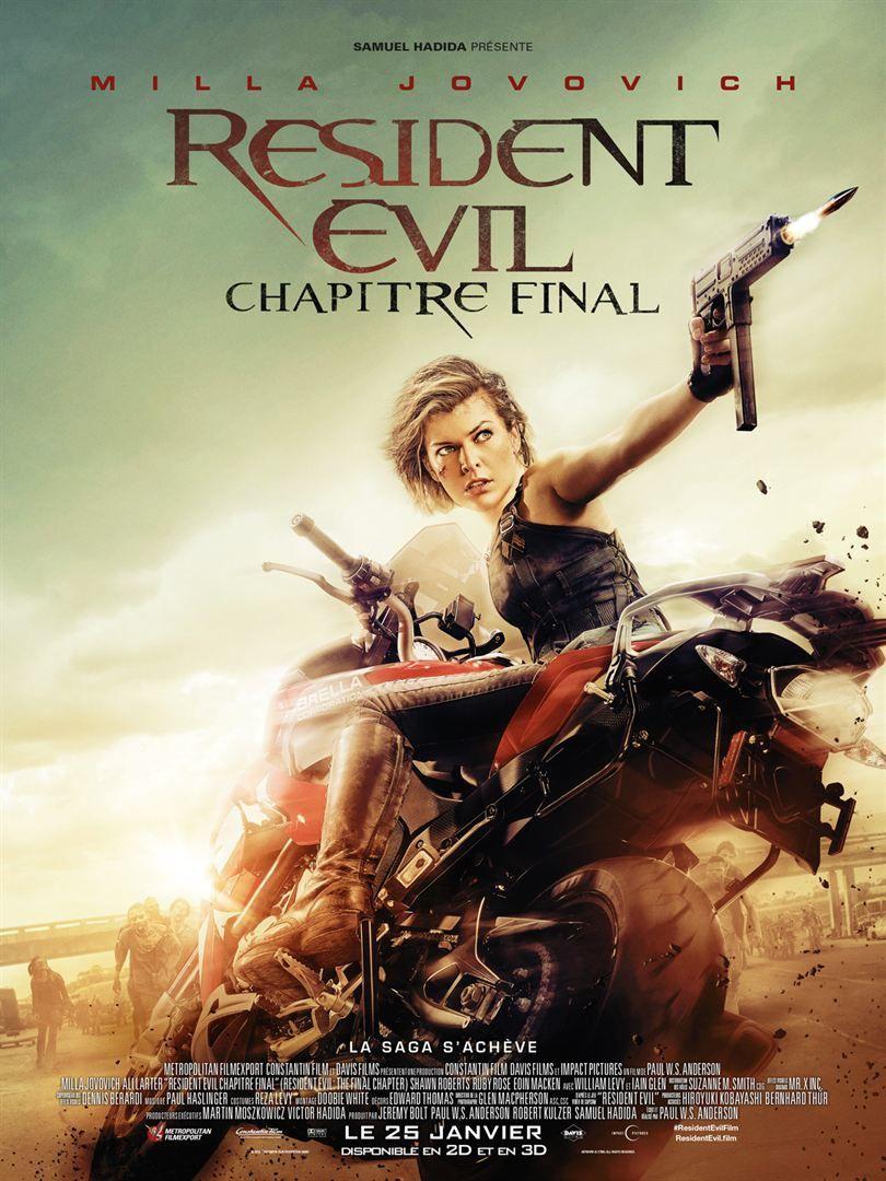 Resident Evil : Chapitre Final (BANDE ANNONCE VF et VOST) avec Milla Jovovich - Le 25 janvier 2017 au cinéma