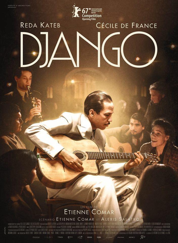 Django (BANDE ANNONCE) avec Reda Kateb, Cécile de France - Le 26 avril 2017 au cinéma