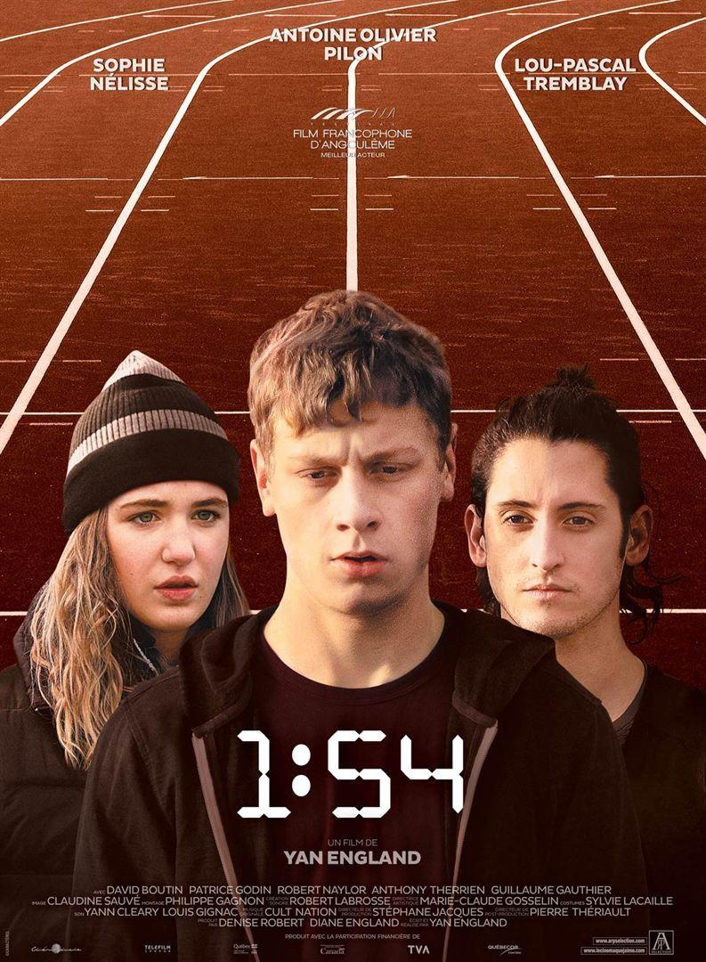 1:54 (BANDE ANNONCE) avec Antoine-Olivier Pilon, Sophie Nélisse, David Boutin - Le 15 mars 2017 au cinéma