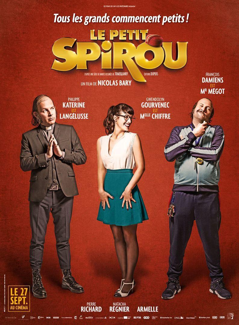 Le Petit Spirou (BANDE-ANNONCE) avec François Damiens, Pierre Richard, Philippe Katerine - Le 27 septembre 2017 au cinéma