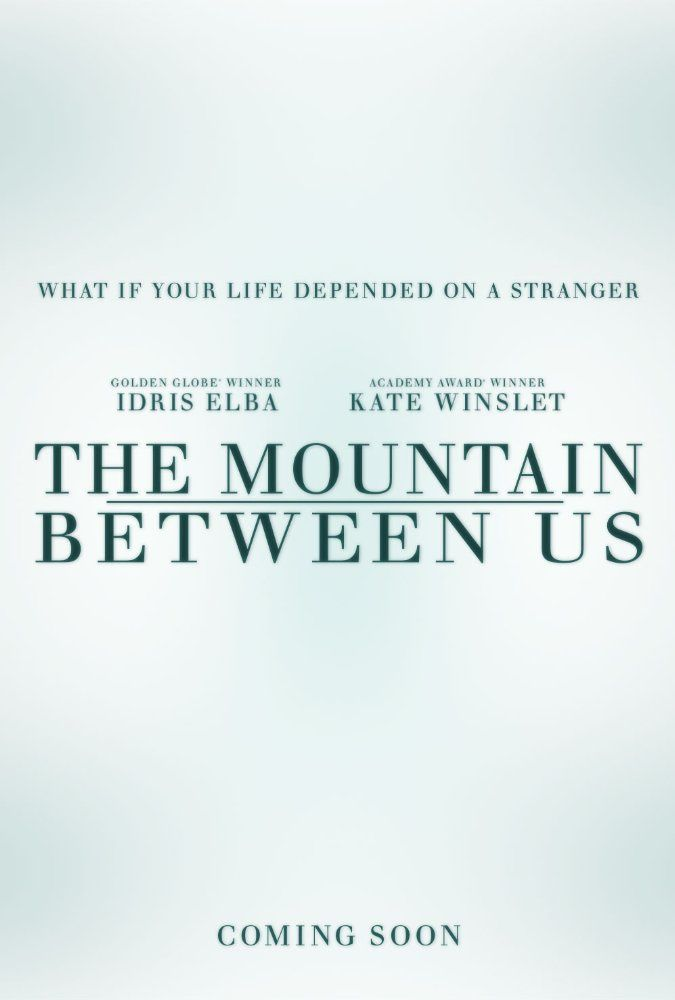 La montagne entre nous (The Mountain Between Us) Idris Elba, Kate Winslet, Dermot Mulroney - Le 8 novembre 2017 au cinéma