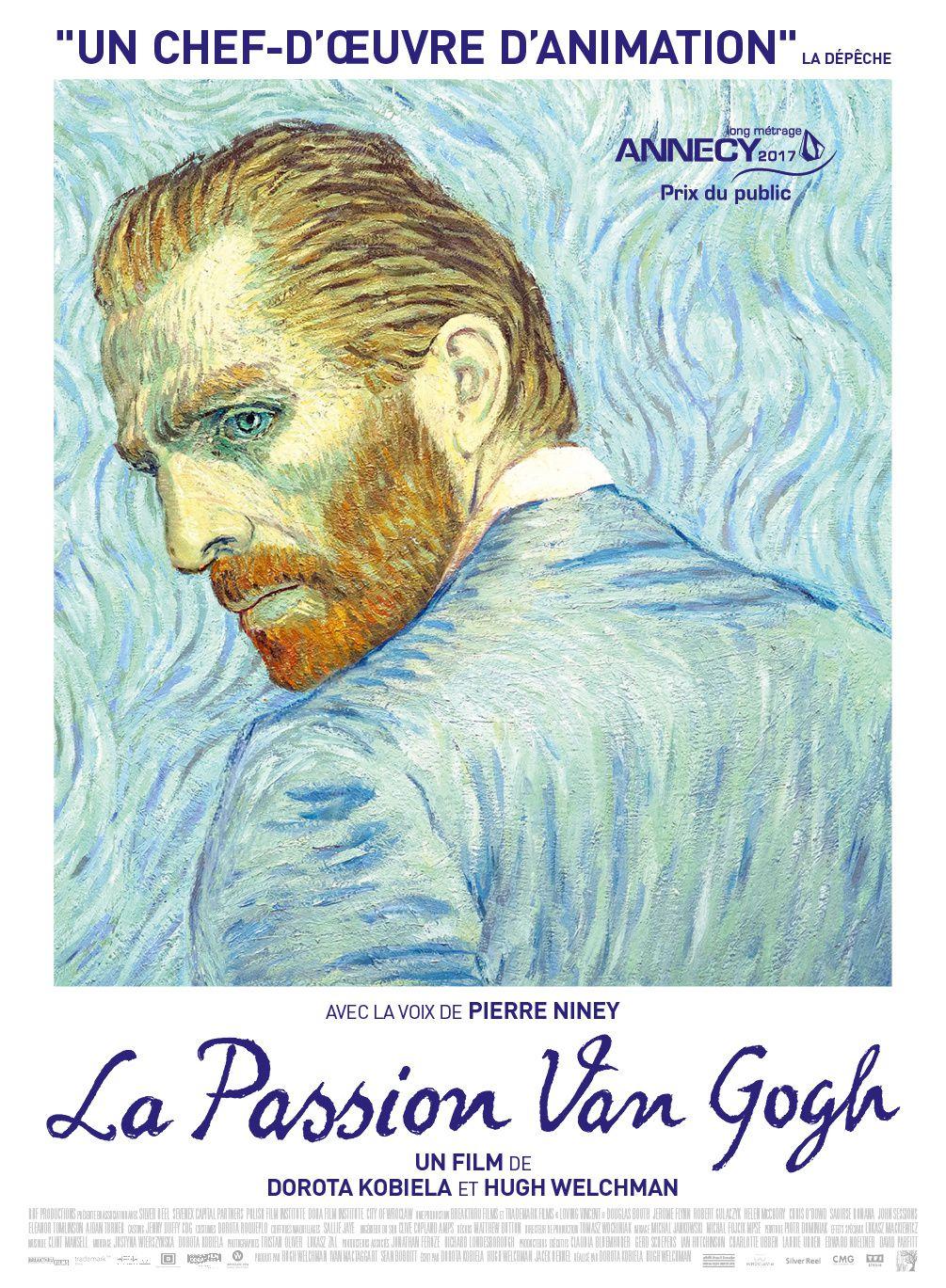 La Passion Van Gogh : découvrez la bande-annonce - Au cinéma le 11 octobre 2017