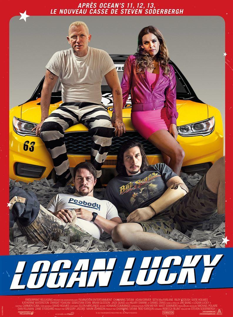 Logan Lucky (BANDE-ANNONCE) de Steven Soderbergh avec Daniel Craig - Le 25 octobre 2017 au cinéma
