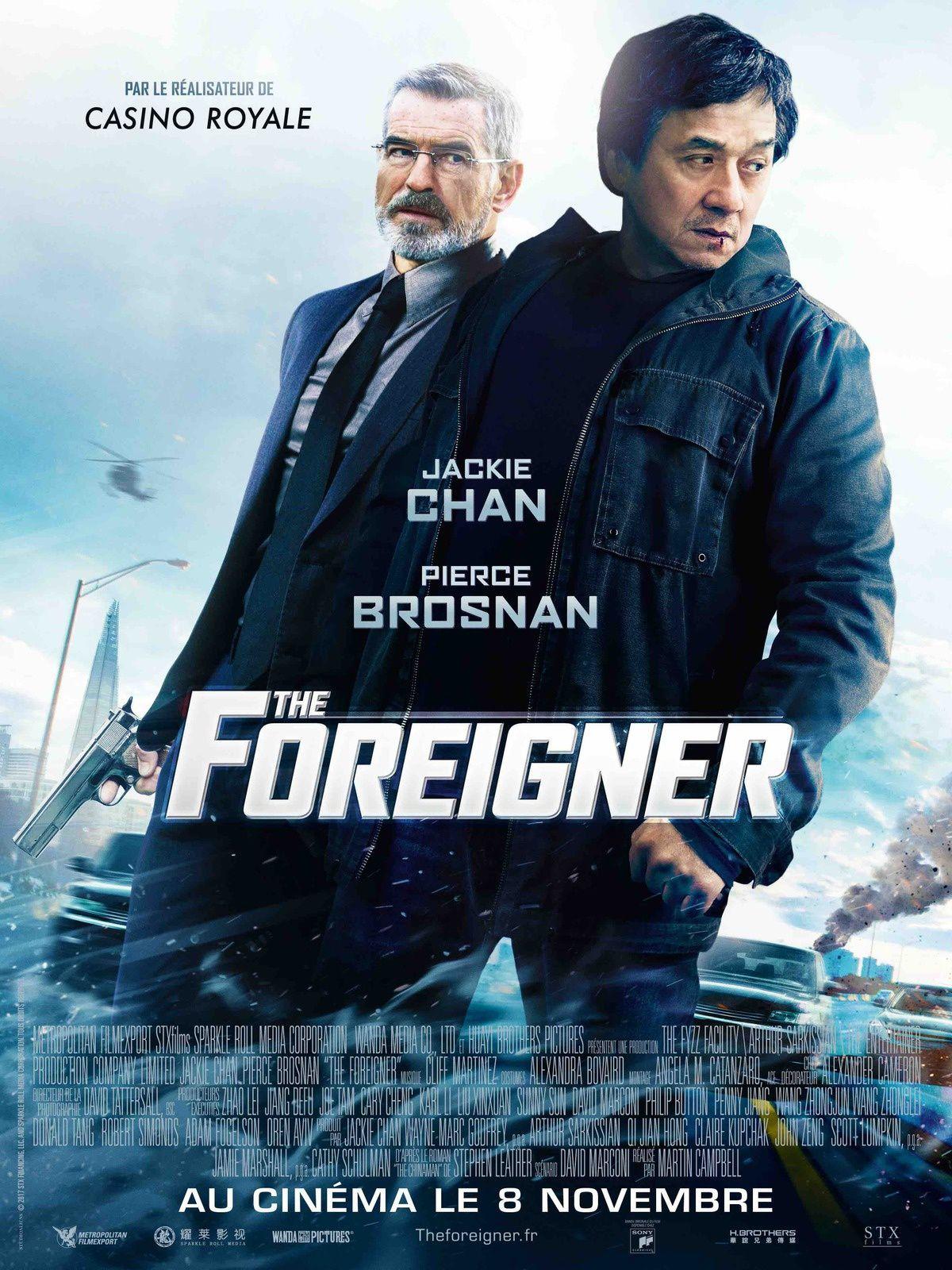 THE FOREIGNER : Jackie Chan face à Pierce Brosnan ! Le 8 novembre au cinéma. La bande-annonce