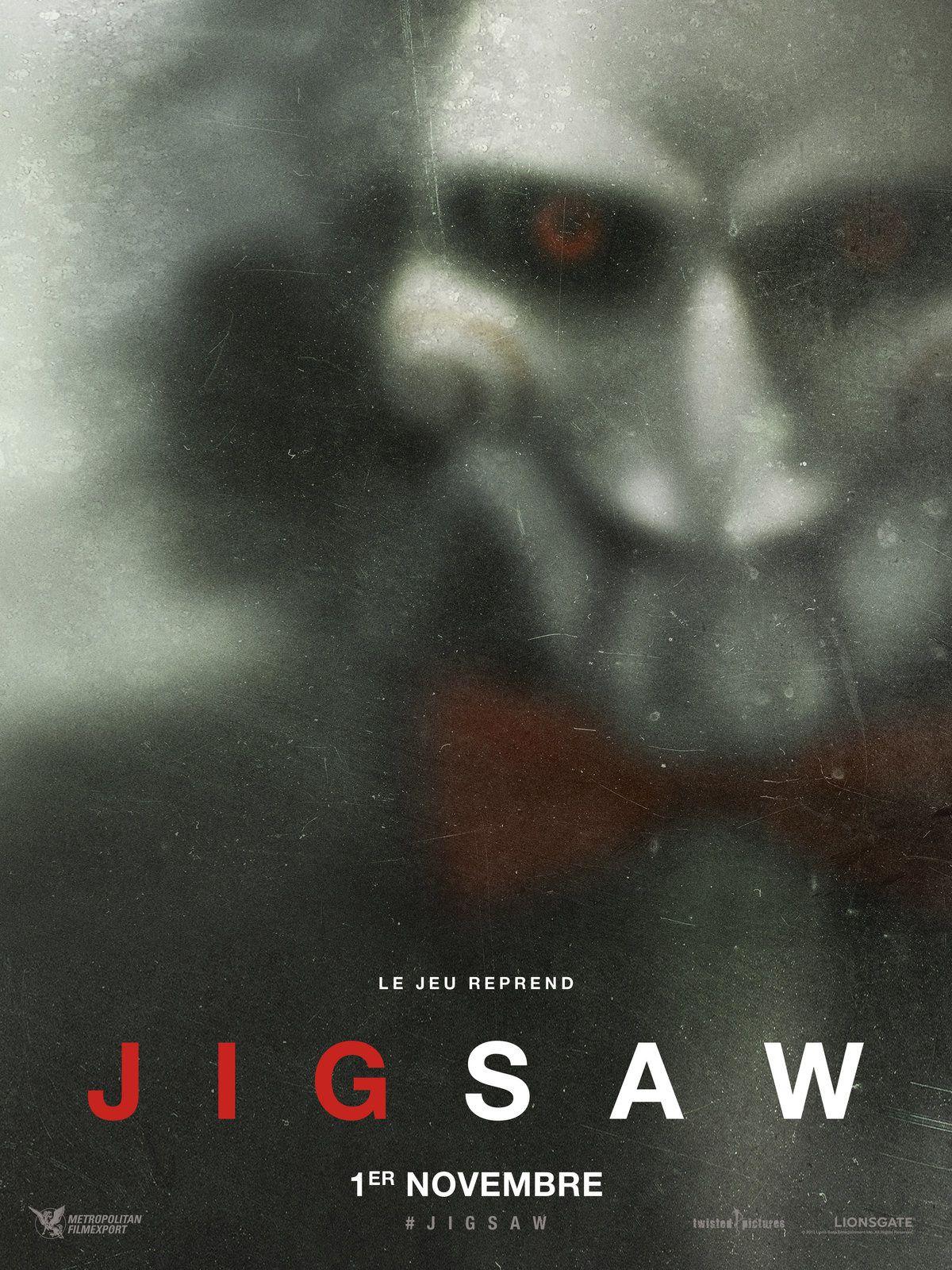 JIGSAW : découvrez la bande-annonce ! Le 1er novembre 2017 au cinéma