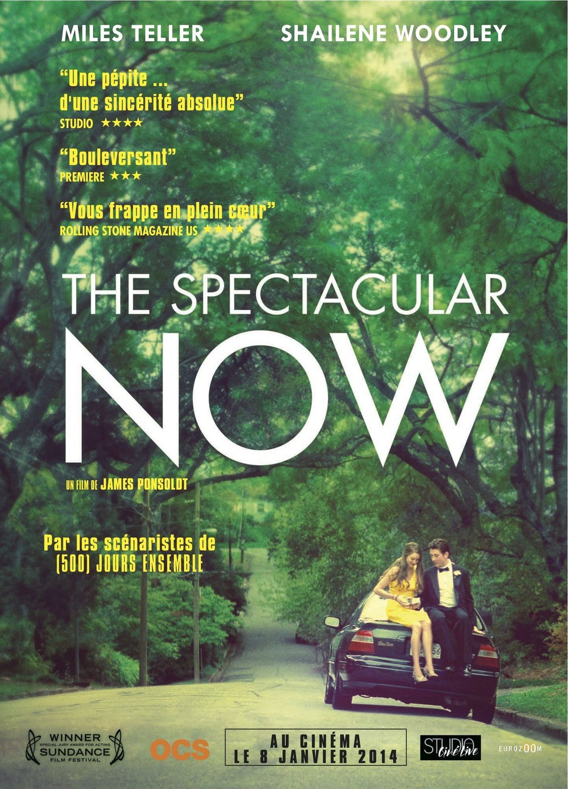 The Spectacular Now (2 EXTRAITS VOST) avec Shailene Woodley, Miles Teller, Jennifer Jason Leigh - 08 01 2014