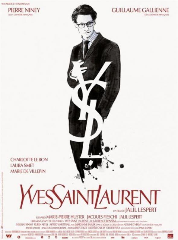 YVES SAINT LAURENT (BANDE ANNONCE) avec Pierre Niney, Guillaume Gallienne, Charlotte Le Bon - 08 01 2014