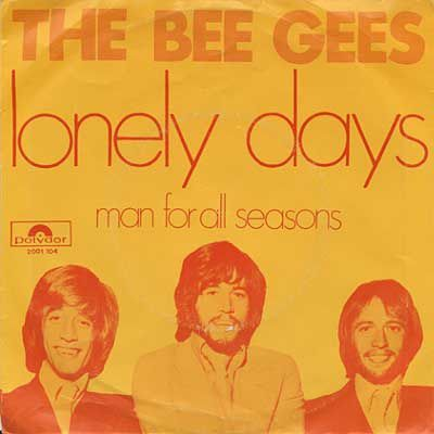 Bee Gees - Lonely Days (pochette)