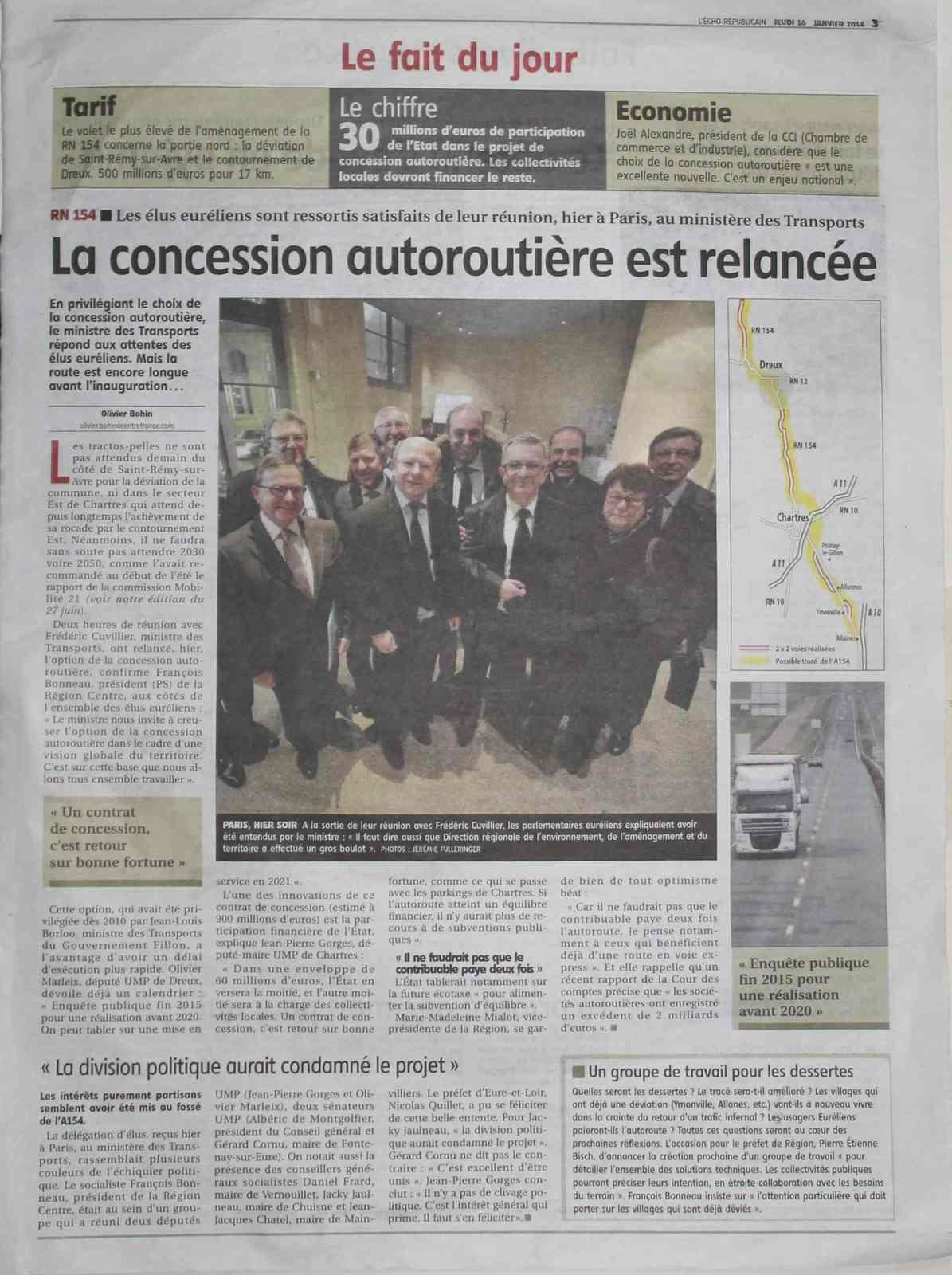 Visite des élus d'Eure-et-et-Loir chez Cuvillier