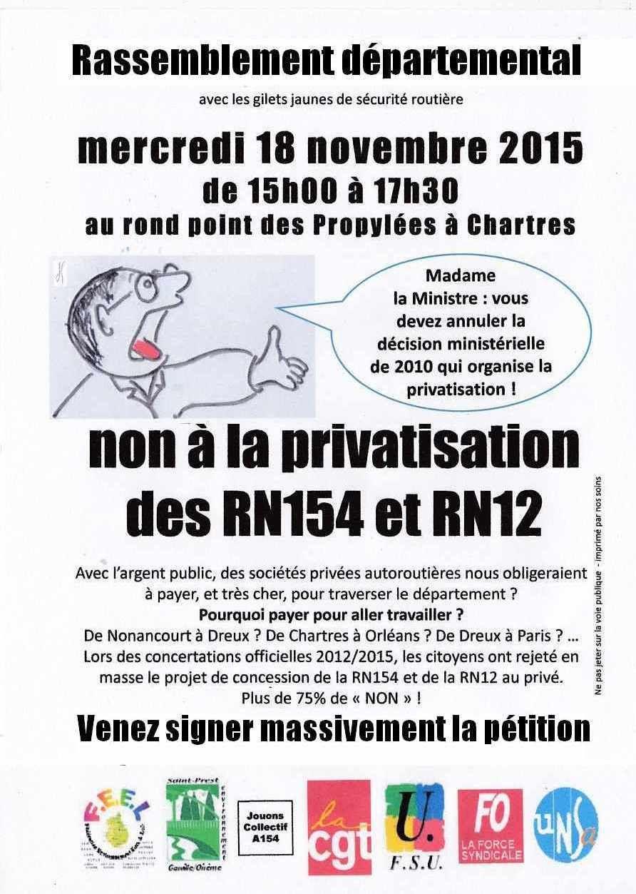 Tous à Chartres le 18 novembre