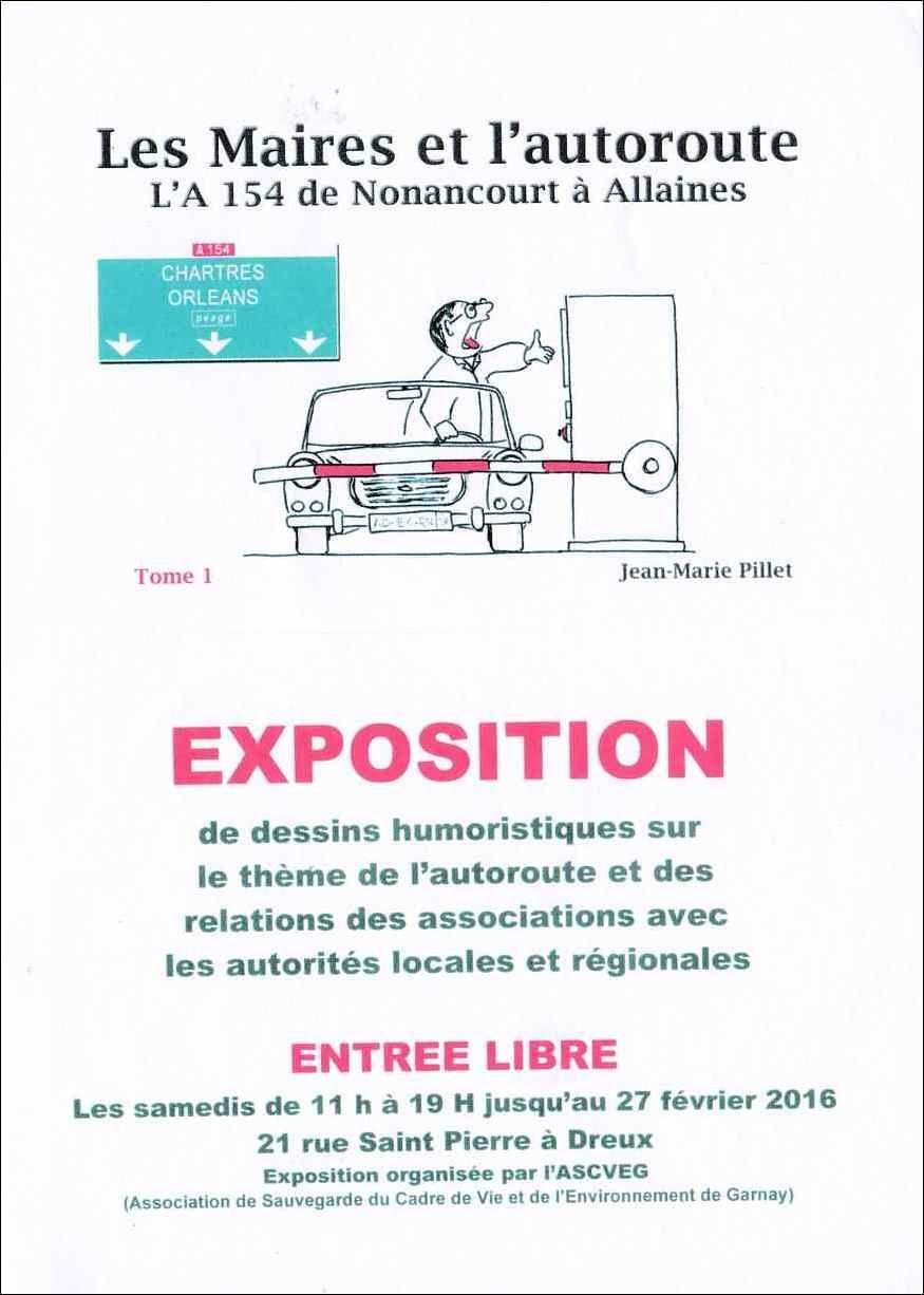 L'album de dessins humoristiques de Jean-Marie Pillet en vente à la boutique éphémère de l'ASCVEG à Dreux