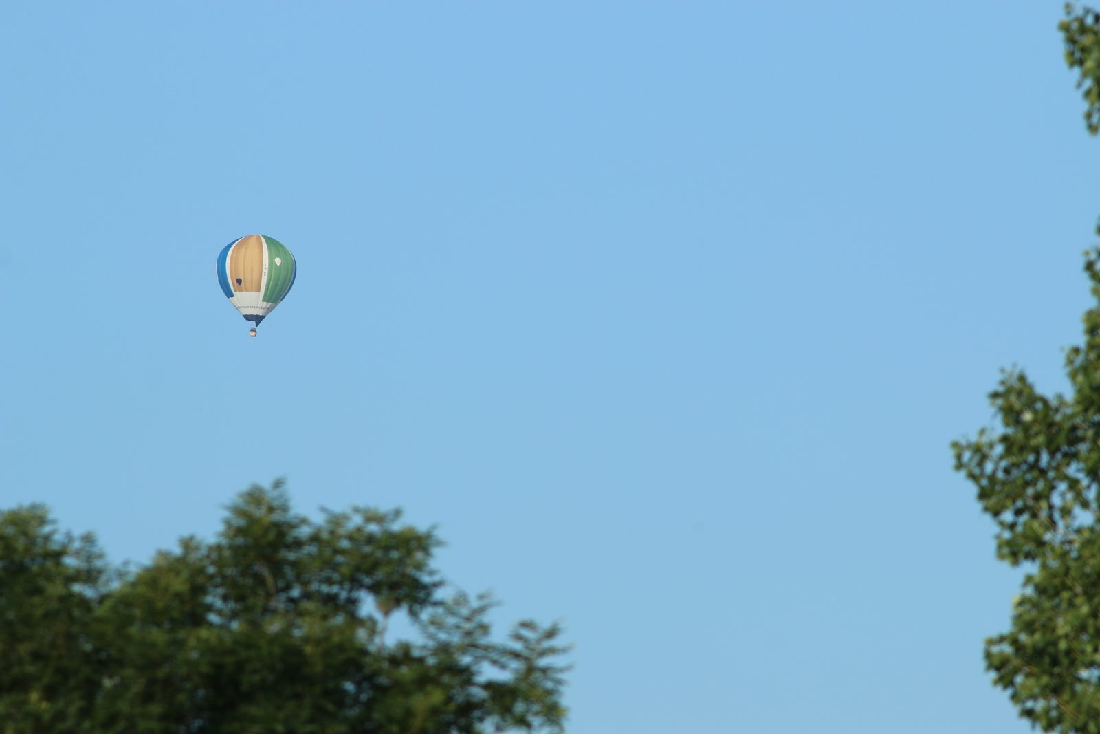 Le premier WE de juin, c'est la commémoration du premier vol des frères Montgolfier à Annonay.
