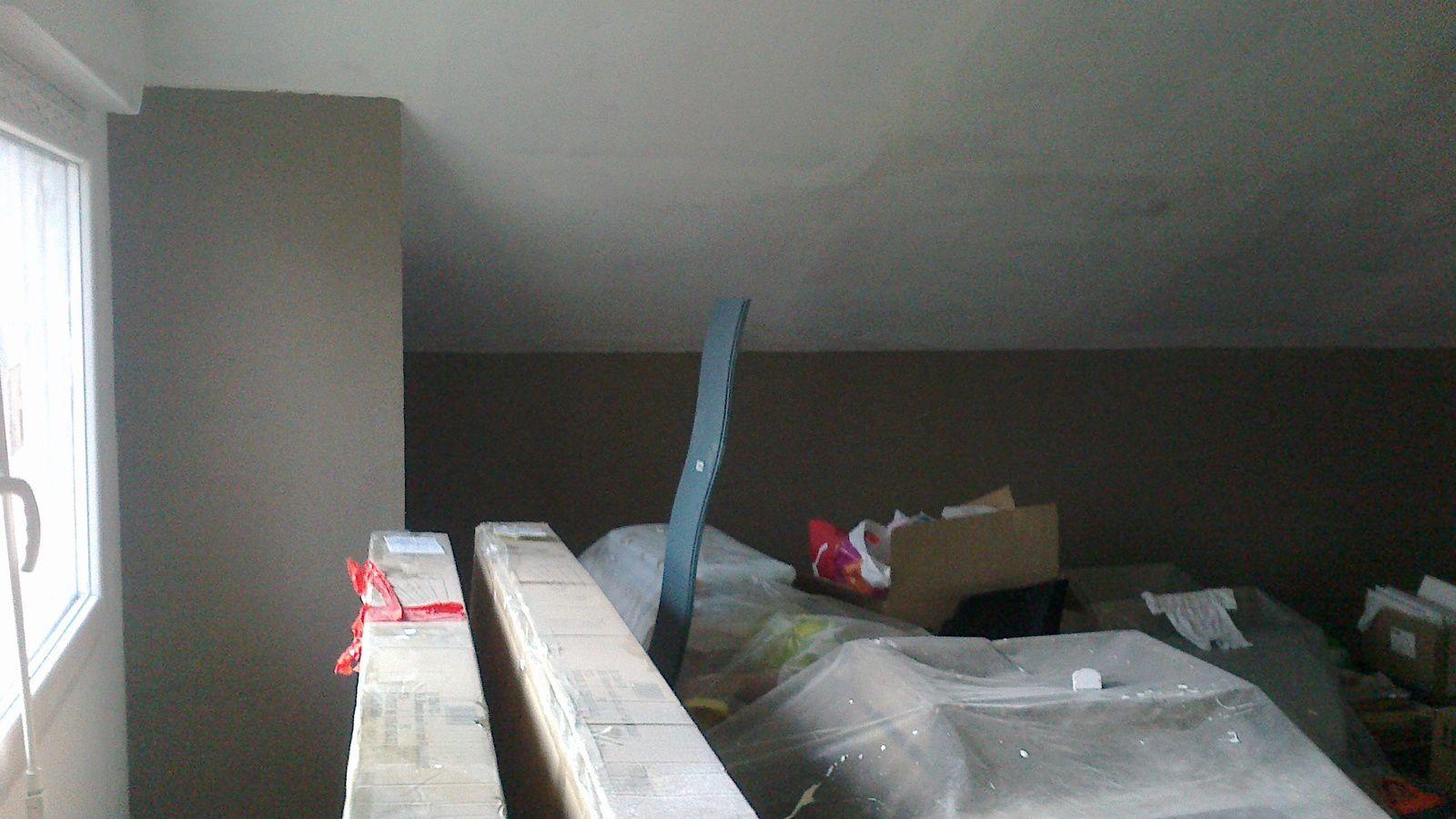 02 12 13 peintures salon suite quatre murs et un toit mikit for Peinture brun taupe