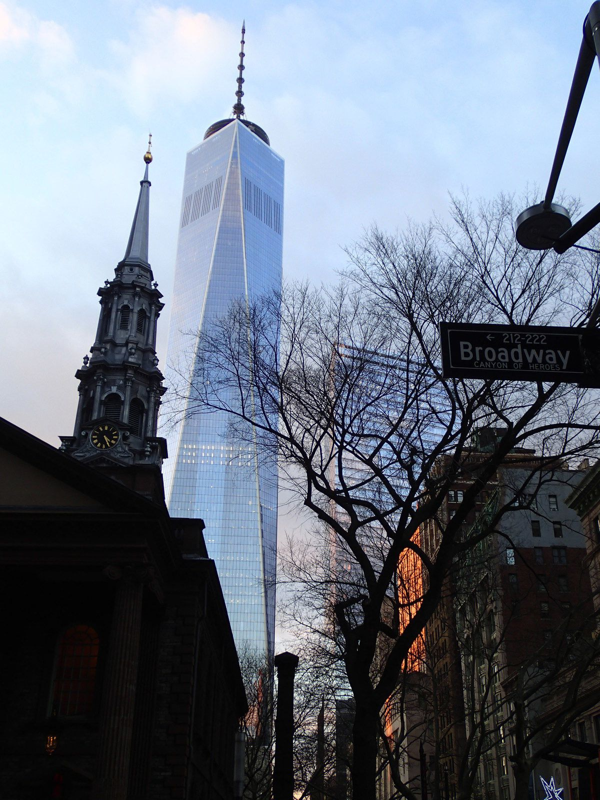 New york world trade center fin 2015 itin raires for Miroir des princes
