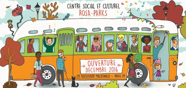Le centre social et culturel Rosa-Parks ouvre ses portes le 3 décembre