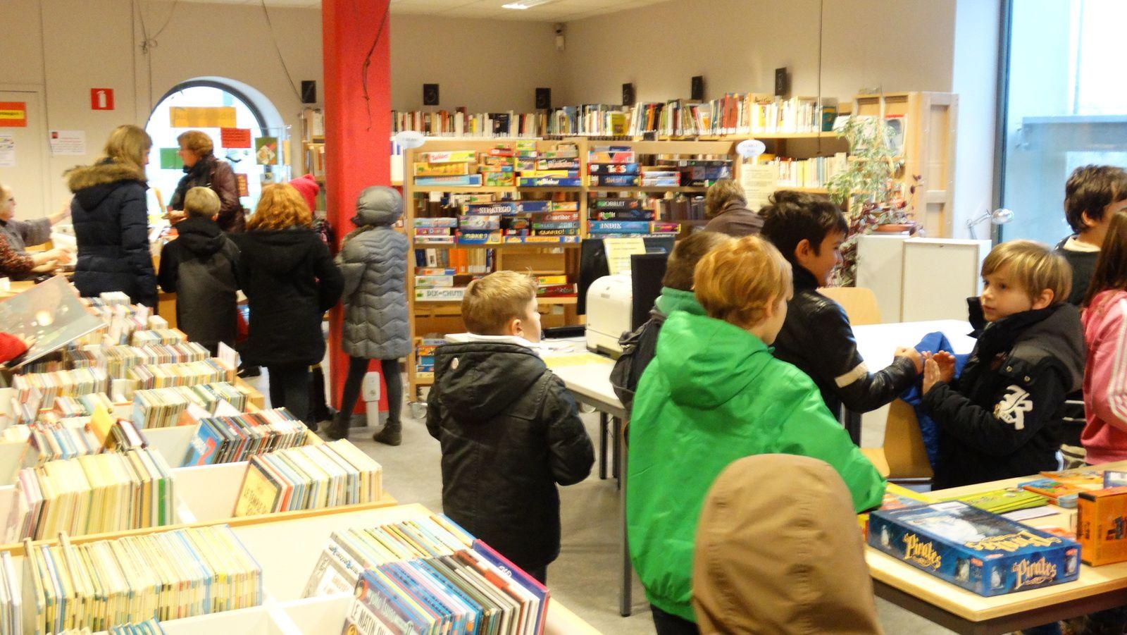 Animation à la bibliothèque de Jamoigne - Mercredi 26/11