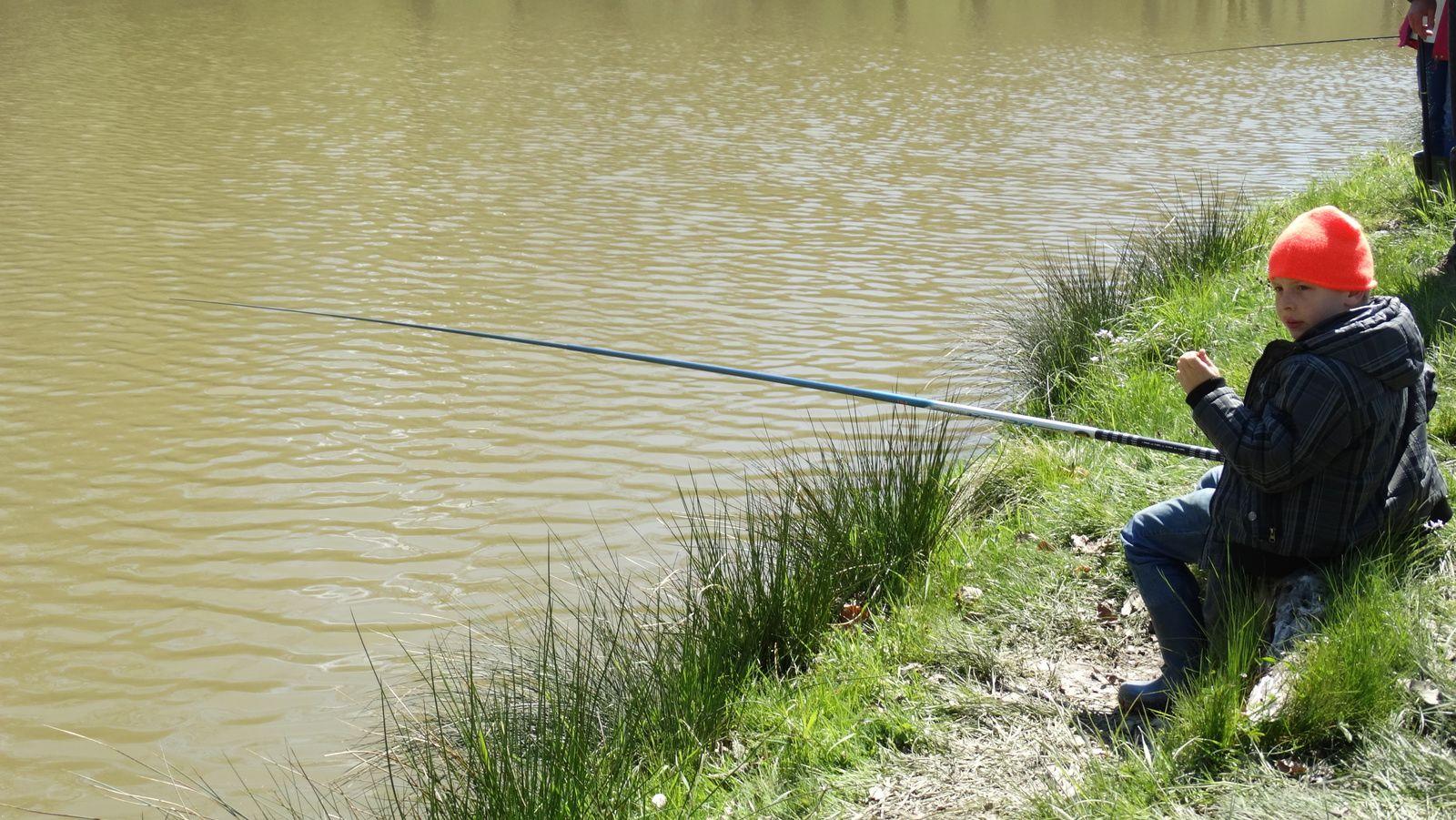 Classe pêche - jour 4 : 28/04/2016 - Journée à RIVEO