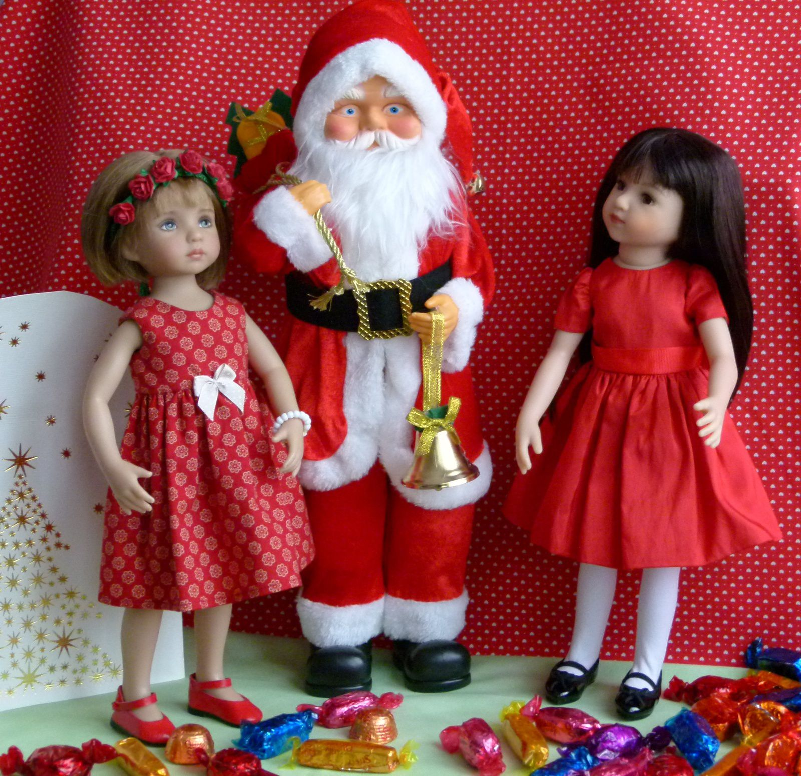 Noël de poupées - Christmas and dolls