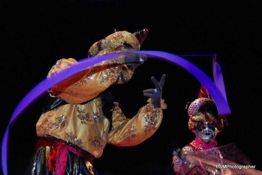 """""""IL GRANDE CARNAVALE DE VENEZIA…"""" Un spectacle son et lumière mis en scène par Aloha Communication."""