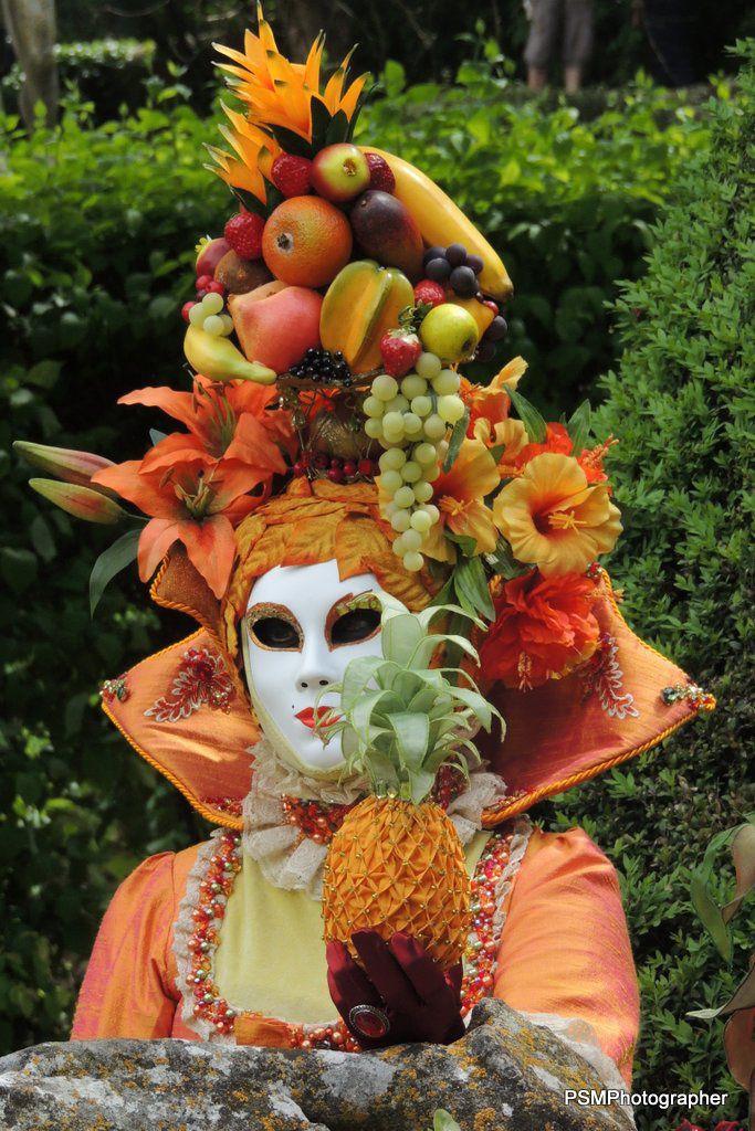 Les masqués aux jardins d'Albertas - Portraits