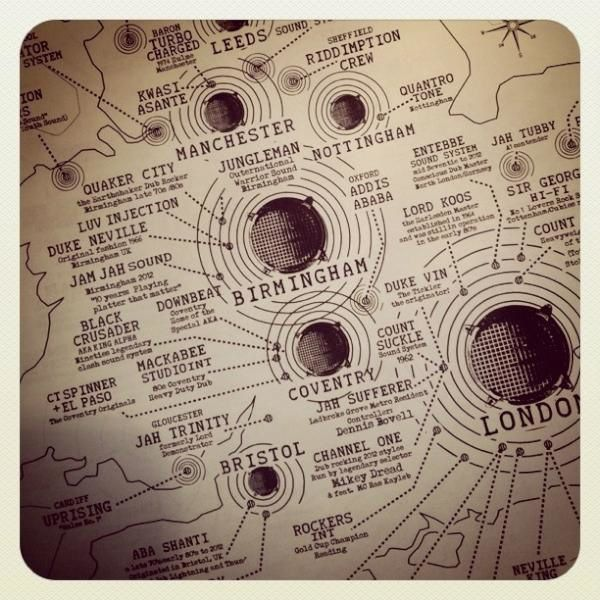 Sound System The Map - Ancient to Futur