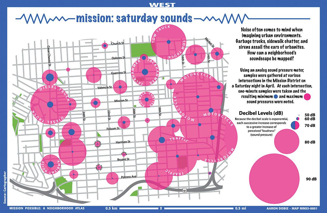 Musings on Maps - Saturday's sound - San Diego Aiport