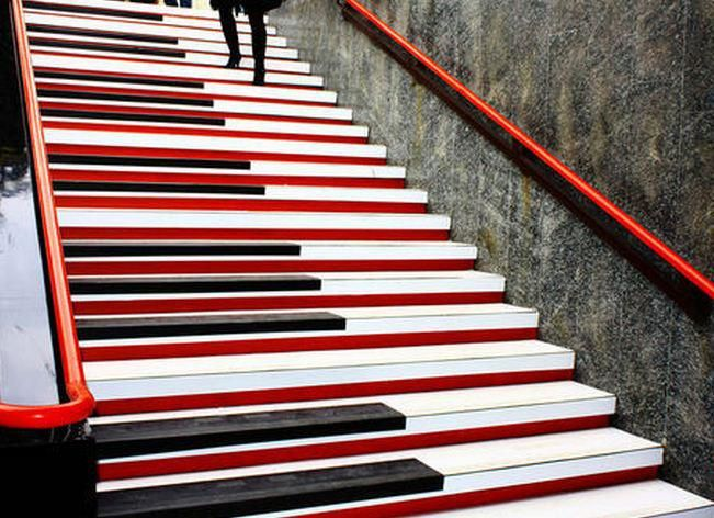 Piano Stair   Milan