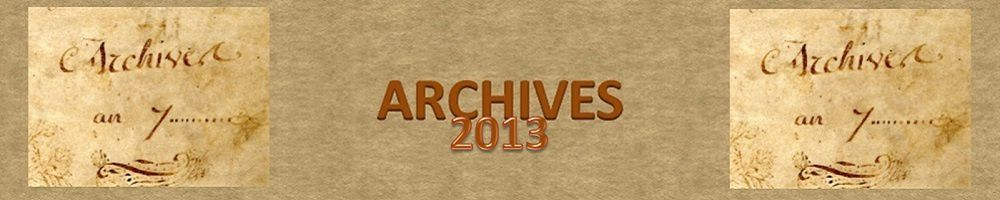 Archives 2013