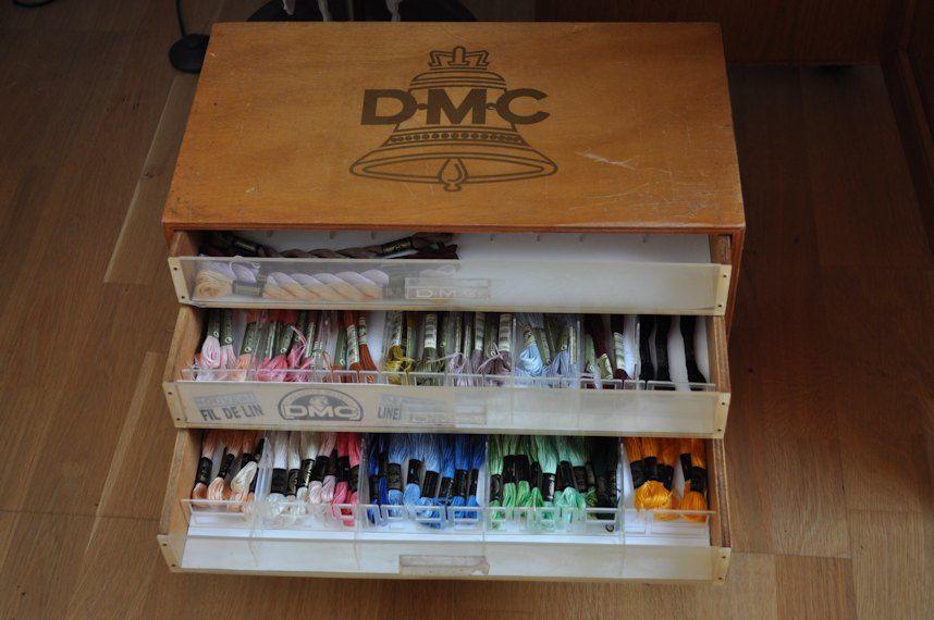 Boîte à ouvrage DMC