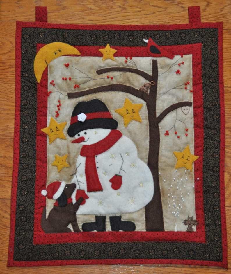 Patchwork : Frosty et ses amis