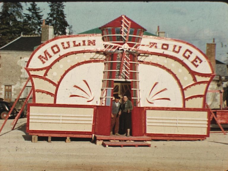 "Le ""Moulin rouge"" version champêtre"