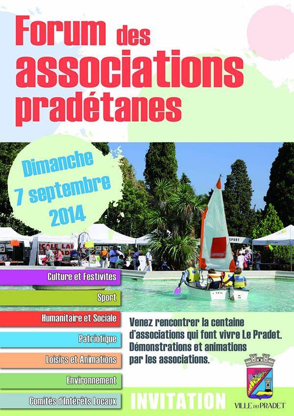 Forum des associations dimanche 7 septembre parc Cravero