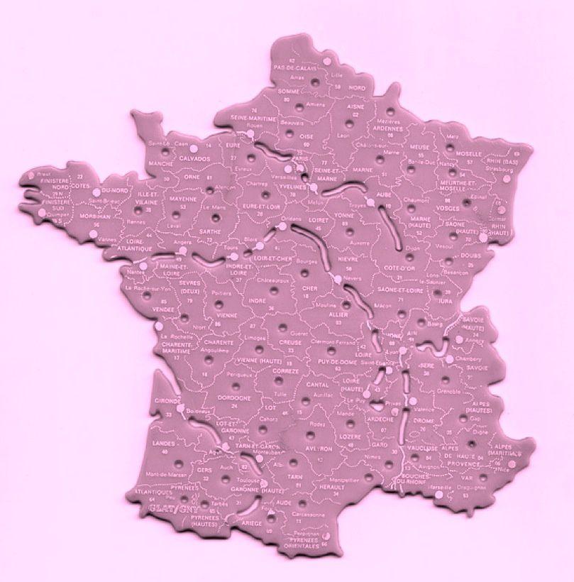 Depuis l'école primaire la carte de l'hexagone est visée, soudée, boulonnée, imprimée dans notre cerveau