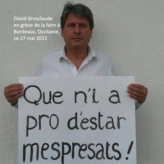 David Grosclaude  Conselhèr regionau d'Aquitània