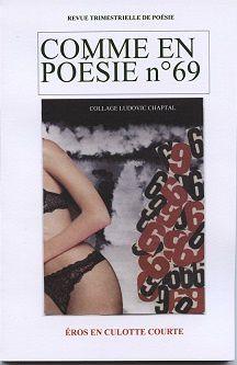 parution de comme en poésie 69
