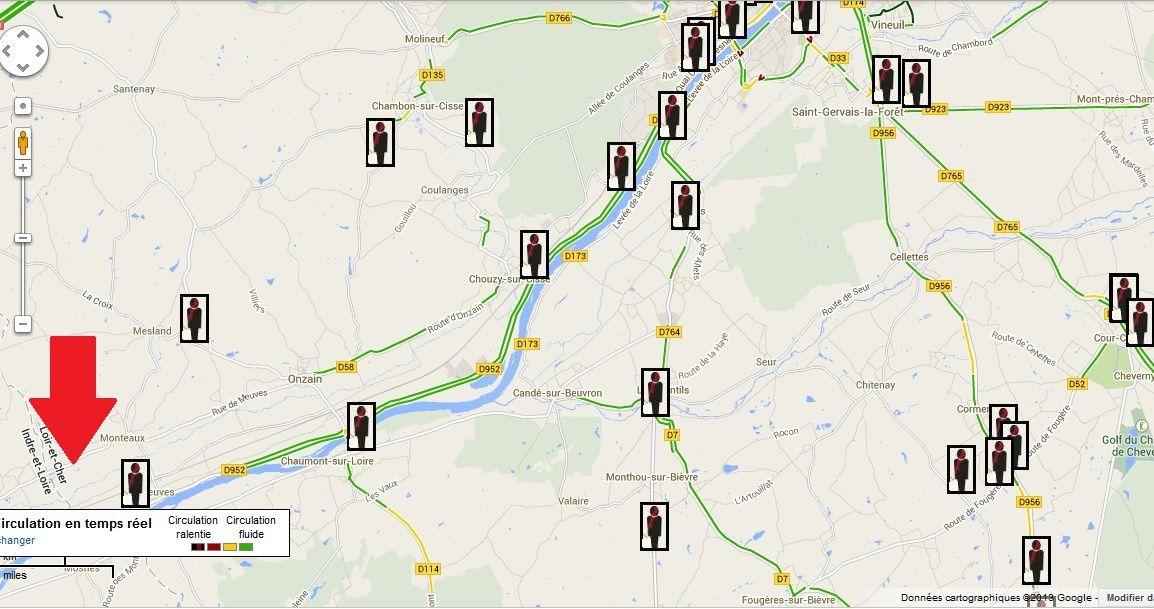 Veuves (41) sur les bords de Loire