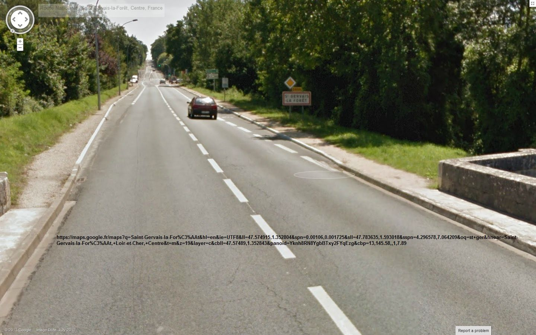 Les cyclistes sous pression: Sur la D 956 venant de Blois un panneau sortie de Blois a été posé récemment  juste avant le giratoire. Donc les 90 km/h sont-ils autorisés entre le giratoire et la sortie du pont, au niveau où justement s'interrompent les bandes cyclables ? La vitesse est manifestement inadaptée. Ne serait-il pas plus logique d'inclure le pont dans la zone agglomérée de St Gervais avec une vitesse de 50 voir 30 km/h sur le pont et 50 ou 70 entre pont et giratoire ? Le marquage central sur le pont n'est-il pas en contradiction avec la sécurité des cyclistes ? (Effet de rail pour les automobilistes)