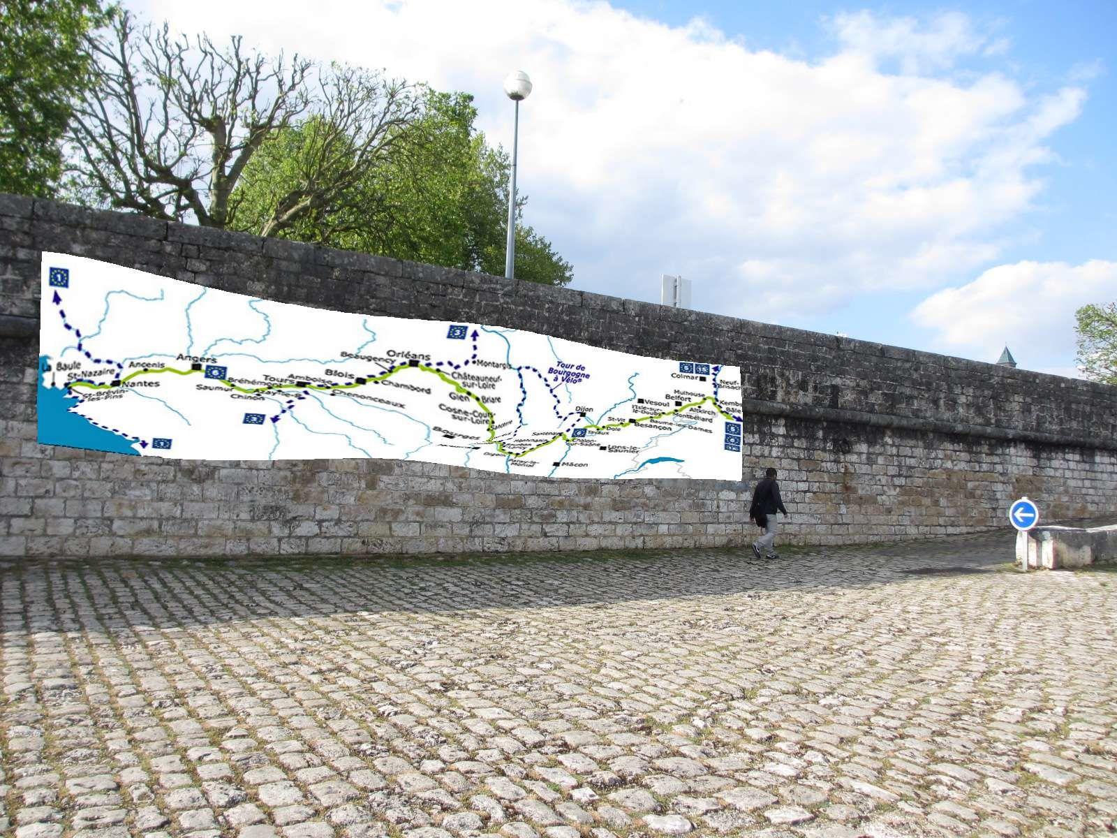 Des promeneurs pourraient redécouvrir autrement le fleuve royal. Les riverains rêveraient sur le chemin au fil de l'eau en regardant vers Waldshut sur le Rhin (ville jumelée avec Blois) . Des cyclistes européens venant de Bâle échangeraient leurs expériences au pied de la fresque blésoise.. avec ceux venant de Nantes.