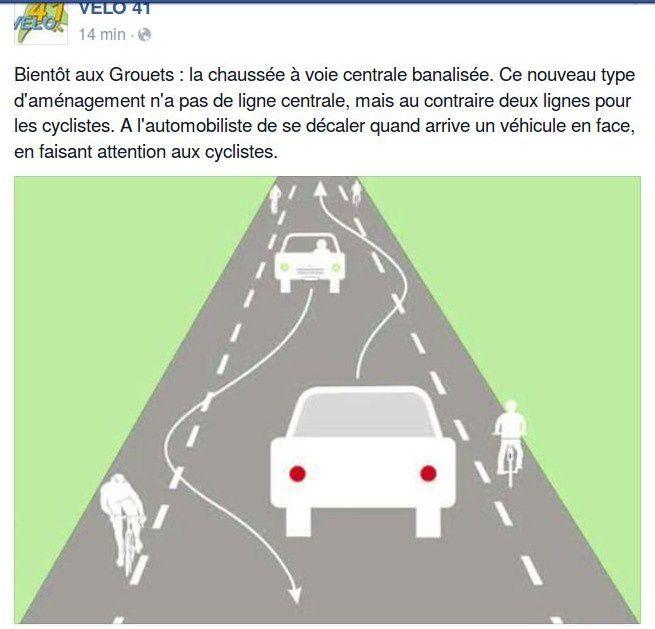 Blois - les Grouets - VELO41 annonce un chaucidou... en bords de Loire ?  rue basse des Grouets ?