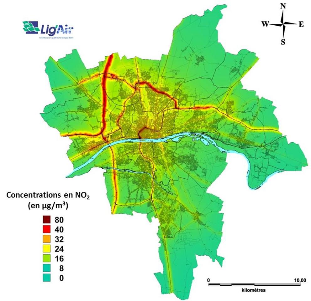 Orléans - https://www.ligair.fr/les-moyens-d-evaluation/par-la-modelisation/modelisation-urbaine