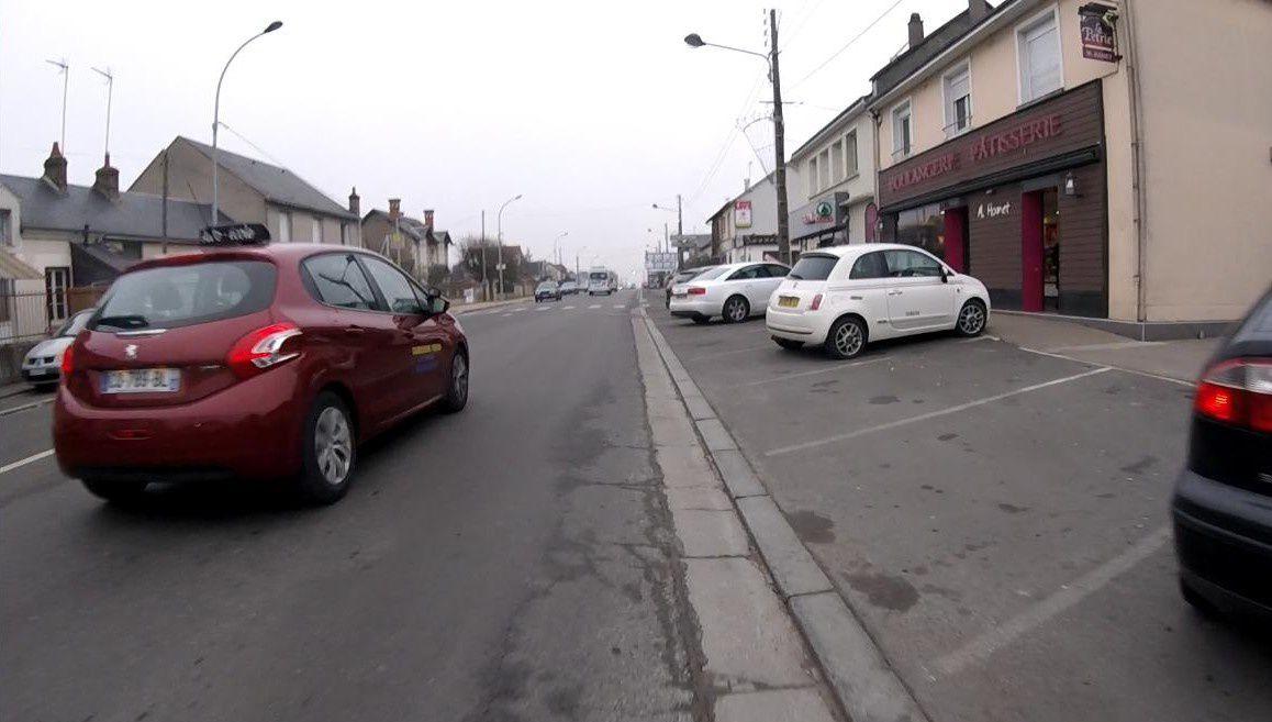 Avenue du Maréchal Maunoury à Blois -